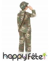 Tenue de militaire pour petit garçon, image 2