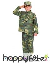 Tenue de militaire pour petit garçon, image 3
