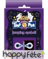 Tour de magie globe oculaire magique