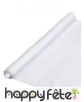 Tapis de neige blanc en feutrine, 90 x 245cm
