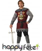 Tenue de noble chevalier premium pour adulte