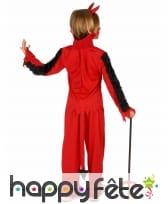Tenue de petit Diable rouge pour garçon, image 2