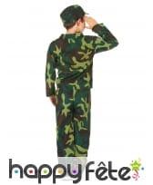Tenue de petit militaire imprimé camouflage, image 2