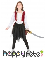 Tenue de petite pirate baroque, image 1