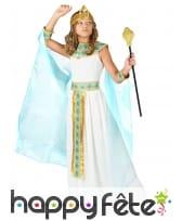 Tenue de petite reine égyptienne avec cape, image 1