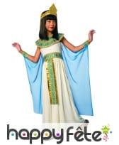 Tenue de petite reine égyptienne avec cape, image 3