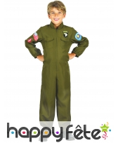 Tenue de pilote de chasse pour enfant
