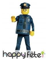 Tenue de policier Lego pour enfant