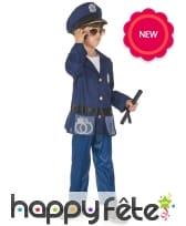 Tenue de policier pour enfant avec accessoires, image 1