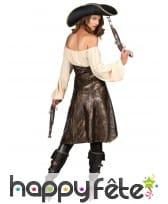 Tunique de pirate sexy pour femme, image 2