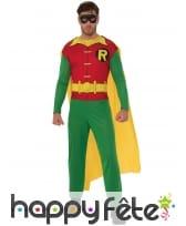 Tenue de Robin pour homme, modèle classique