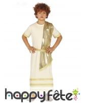 Tenue de romain pour enfant