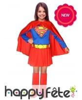 Tenue de Supergirl pour enfant