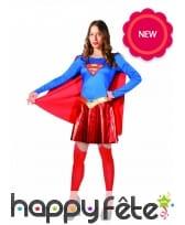 Tenue de Supergirl pour femme