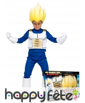 Tenue de Vegeta super guerrier enfant, coffret