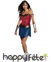 Tenue de Wonder Woman pour femme, modèle classique