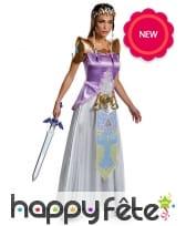 Tenue de Zelda pour femme, Deluxe