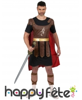 Tunique et cape de Gladiateur pour adulte
