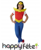 Tenue enfant de Wonder Women, Super Hero Girls
