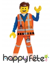 Tenue Emmet enfant, La grande aventure Lego luxe