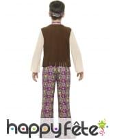 Tenue hippie fleurie pour enfant, image 1