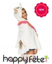 Tunique lama avec capuche pour adulte, image 1