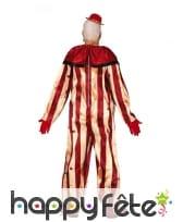 Tenue lignée de clown ensanglanté pour homme, image 1