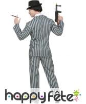 Tenue lignée de Gangster pour adulte, image 1