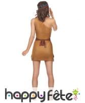 Tenue marron courte de femme indienne, image 2