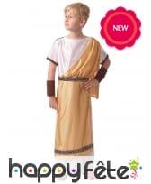 Tenue or de romain pour enfant
