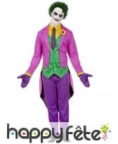 Tenue queue de pie de Joker pour adulte, image 1