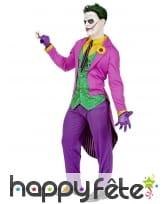 Tenue queue de pie de Joker pour adulte, image 2