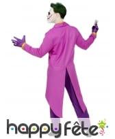 Tenue queue de pie de Joker pour adulte, image 3