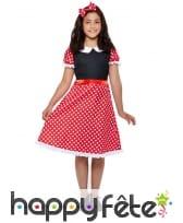 Tenue robe de Madame souris pour enfant