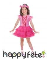 Tenue rose de ballerine pour enfant