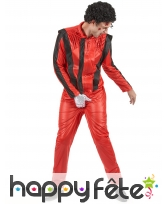 Tenue rouge de thriller, Michael Jackson