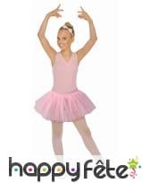Tutu rose de ballerine pour petite fille