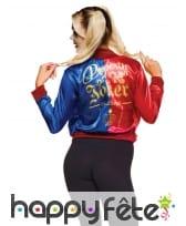 T-shirt avec veste de Harley Quinn pour ado, image 1