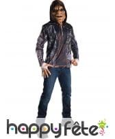 T-shirt de Killer Croc avec masque, Suicide Squad