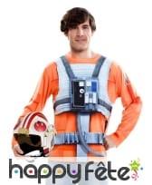 T-shirt du Jedi Luke Skywalker adulte