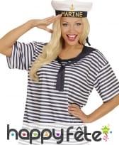 T-shirt et béret de marin, image 1