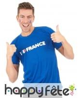 T-shirt I love france