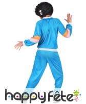 Training vintage bleu pour homme, image 2
