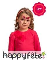Tatouages visage de licorne pour enfant, image 1