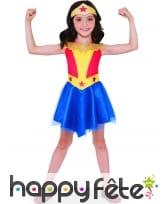 Tenue Wonder Woman Super Hero Girls pour fille