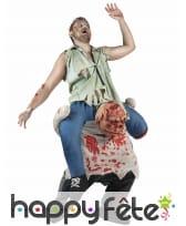 Tenue zombie carry me adulte, image 1