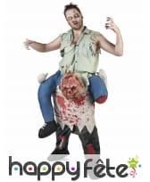Tenue zombie carry me adulte
