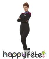 Uniforme de Commander pour femme, Star Trek