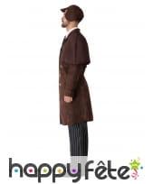 Uniforme de détective marron pour homme, image 1
