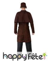 Uniforme de détective marron pour homme, image 2